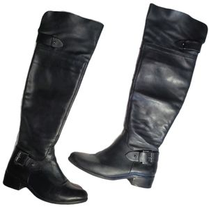Schutz Over the Knee Genuine Leather Riding Boots